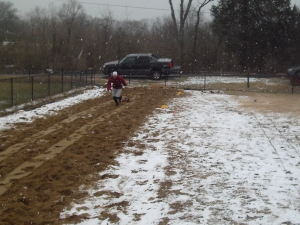 snow day run